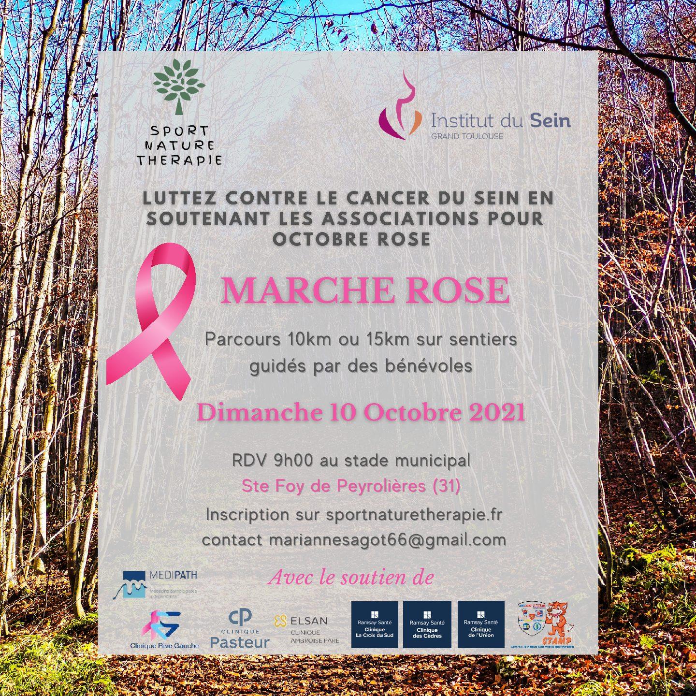 Marche Rose – Dimanche 10 octobre 2021 – Ste Foy de Peyrolières (31)